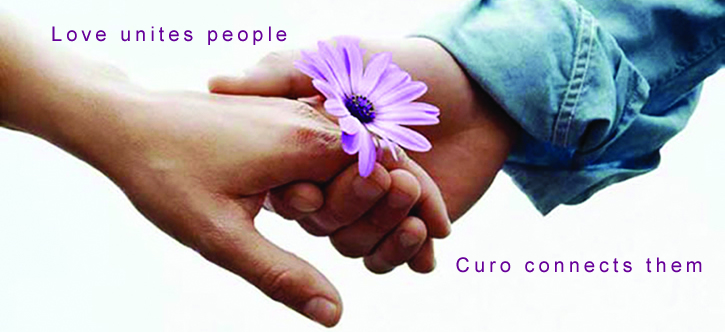 Love unites people ... Curo connects them